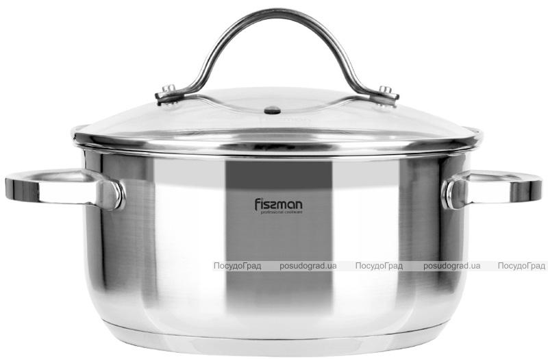 Набор кухонной посуды Fissman Gabriela, 8 предметов, из нержавеющей стали
