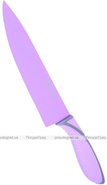 Нож Fissman Juicy 20см поварской с антибактериальным покрытием