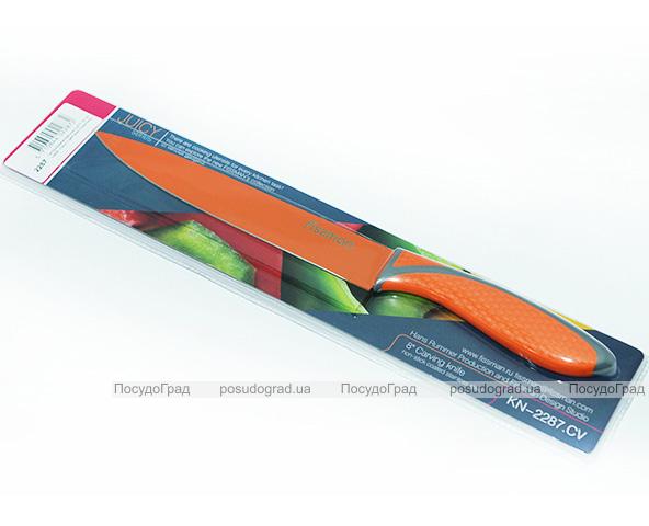 Нож Fissman Juicy 20см для мяса с антибактериальным покрытием
