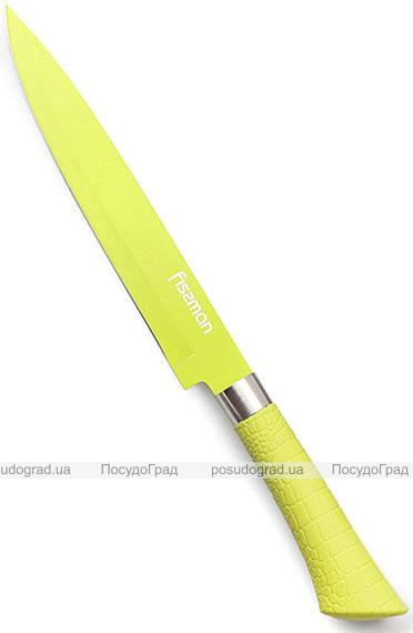 Нож гастрономический Fissman Arcobaleno 20см с антибактериальным покрытием