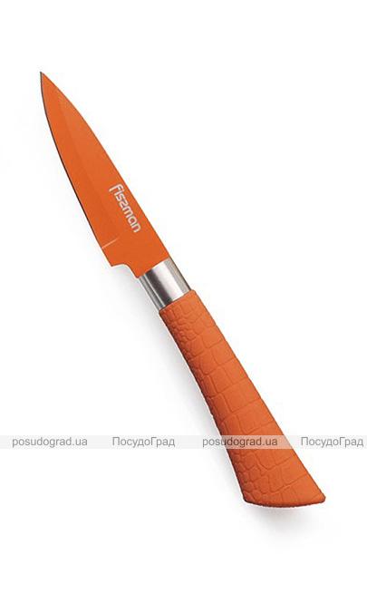 Нож для овощей Fissman Arcobaleno 8см с антибактериальным покрытием