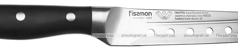 Ніж сашимі (для риби) Fissman Takatsu 20см з нержавіючої сталі