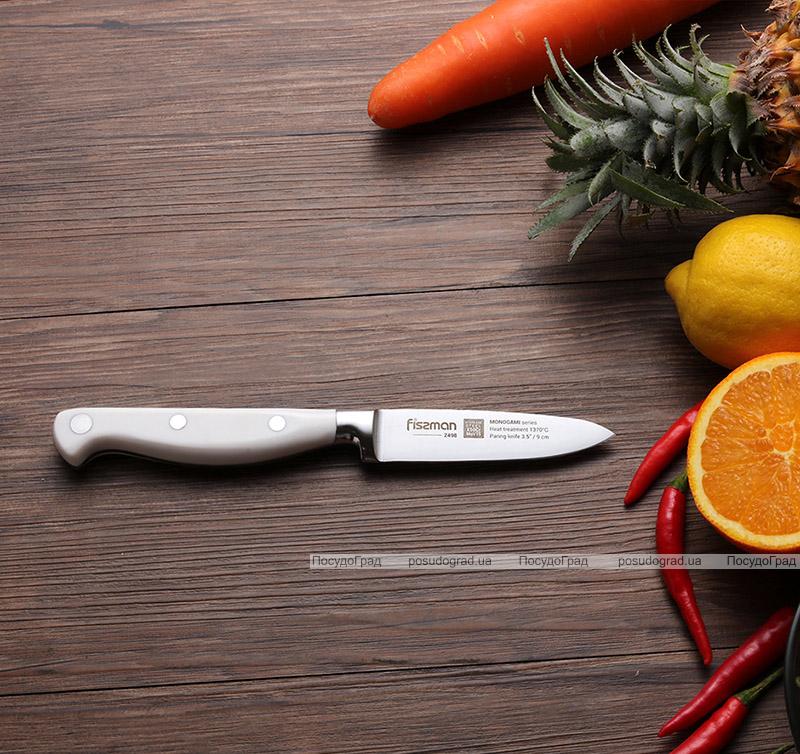 Нож овощной Fissman Monogami 9см из нержавеющей стали