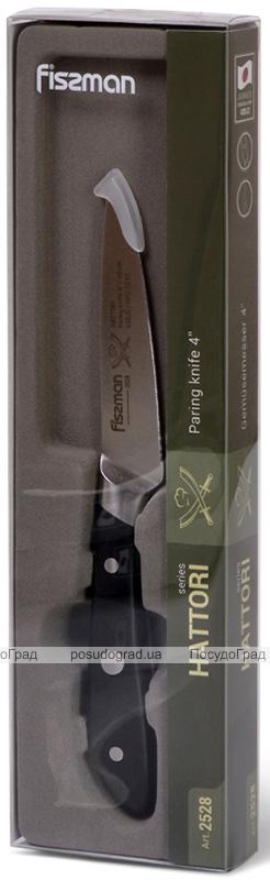 Нож овощной Fissman Hattori 10см из нержавеющей стали