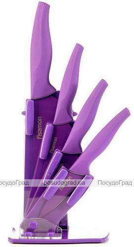 Набор Fissman Fantasia 5 кухонных ножей на акриловой подставке
