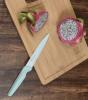 Кухонний набір Fissman Sky 2 ножа з антибактеріальним покриттям і обробна дошка