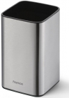 Подставка для кухонных инструментов Fissman Steel 9.5x9.5x15.5см, нержавеющая сталь