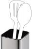 Підставка для кухонних інструментів Fissman Steel 9.5x9.5x15.5см, нержавіюча сталь