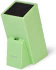 Подставка для кухонных ножей Fissman Green 26х11см, с секцией для ножниц