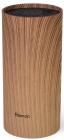 Подставка-колода Fissman Wood для кухонных ножей и ножниц 22х11см