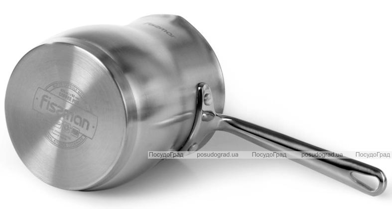 Турка Fissman Jem 670мл з нержавіючої сталі, індукційна
