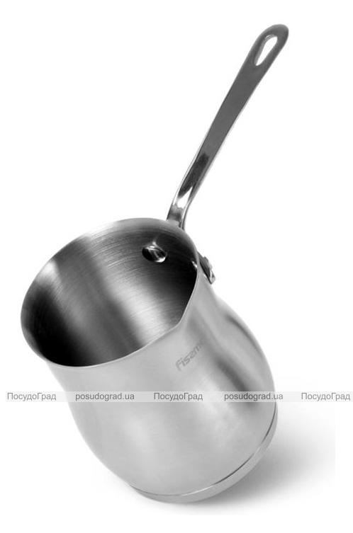 Турка Fissman Jem 330мл из нержавеющей стали, индукционная