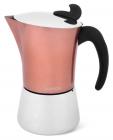 Кофеварка гейзерная Fissman Henrietta Gold 360мл на 6 чашек