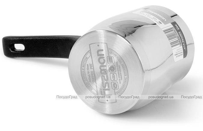 Турка Fissman Amore 530мл з нержавіючої сталі, індукційна