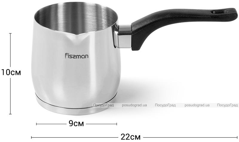 Турка Fissman Amore 640мл з нержавіючої сталі, індукційна