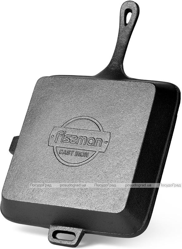 Сковорода-гриль Fissman Naestved, чугун квадратная 26х4.5см