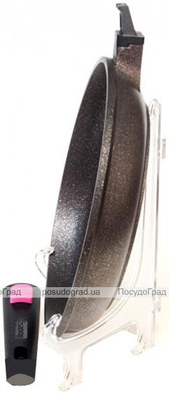 Сковорода Fissman Rebusto Ø24см со съемной ручкой