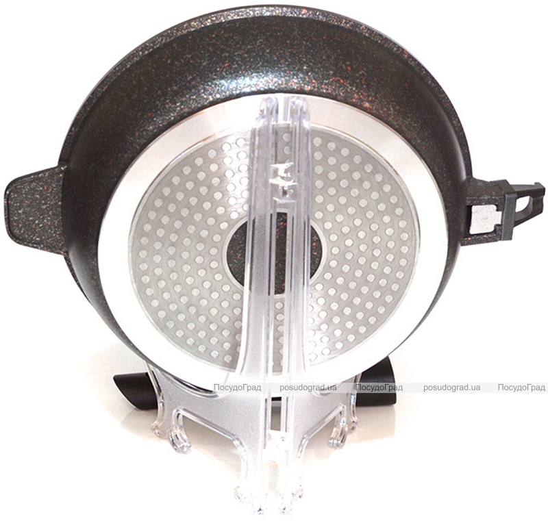 Сковорода-сотейник Fissman Rebusto Ø24см со съемной ручкой