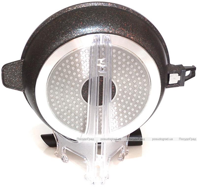 Сковорода-сотейник Fissman Rebusto Ø28см со съемной ручкой
