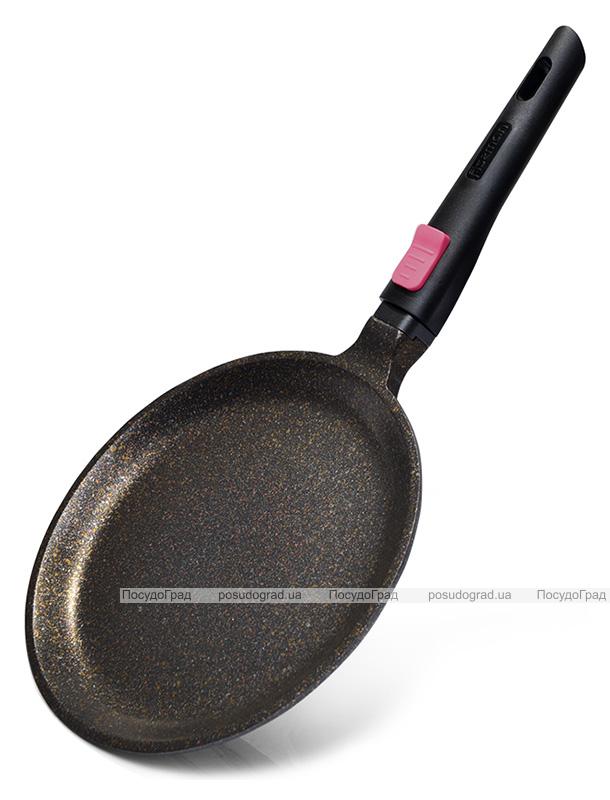 Сковорода блинная Fissman Rebusto Ø24см со съемной ручкой