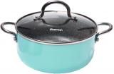 Каструля Fissman Mini Chef Blue 1.8л з антипригарним покриттям