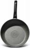 Сковорода Fissman Fuego Stone Grey Ø24см з антипригарним покриттям Platinum (кам'яна крихта)