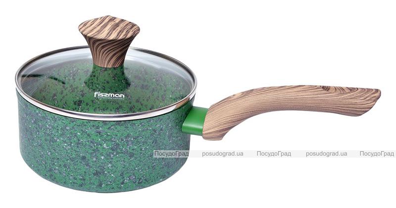 Ковш Fissman Malachite 1.4л с антипригарным покрытием EcoStone