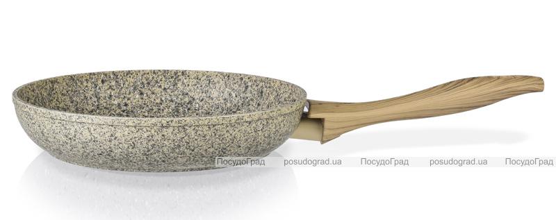 Сковорода Fissman Crema nova Ø24см с керамическим покрытием EcoStone