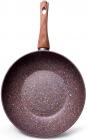 Сковорода-вок Fissman Magic Brown Ø28см с антипригарным покрытием