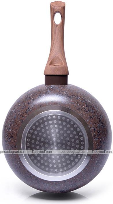 Сковорода-сотейник Fissman Magic Brown Ø24см з антипригарним покриттям