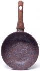 Сковорода-сотейник Fissman Magic Brown Ø28см з антипригарним покриттям