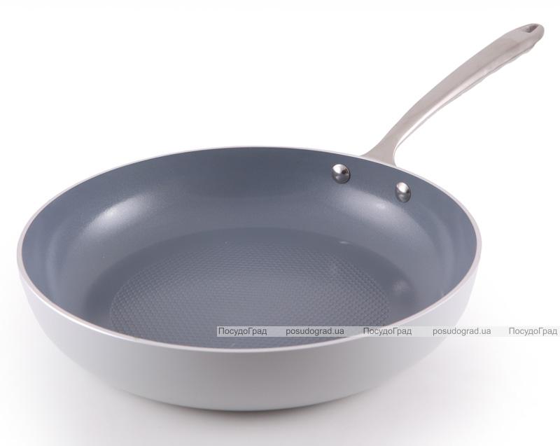 Сковорода Fissman Crystal Ø26см с антипригарным покрытием и индукционным дном