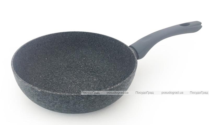 Сковорода глубокая Fissman Veneta Ø24см с керамическим покрытием EcoStone