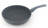 Сковорода глибока Fissman Veneta Ø26см з керамічним покриттям EcoStone