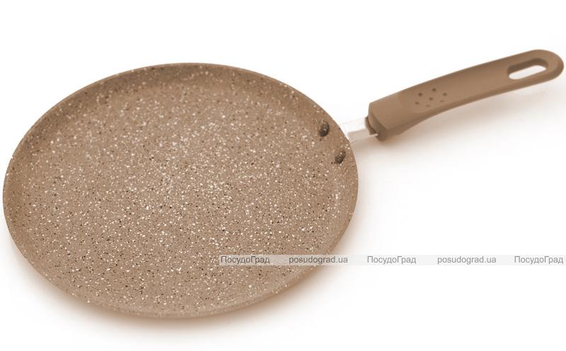 Блинная сковорода Fissman LATTE Ø24см с керамическим антипригарным покрытием