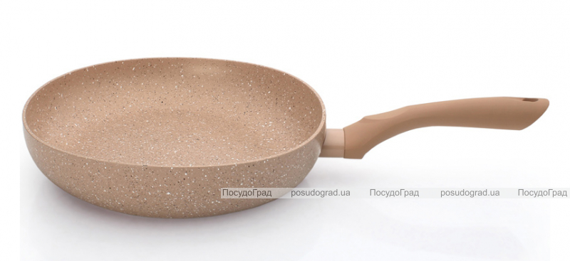 Сковорода глубокая Fissman LATTE Ø24см с керамическим антипригарным покрытием