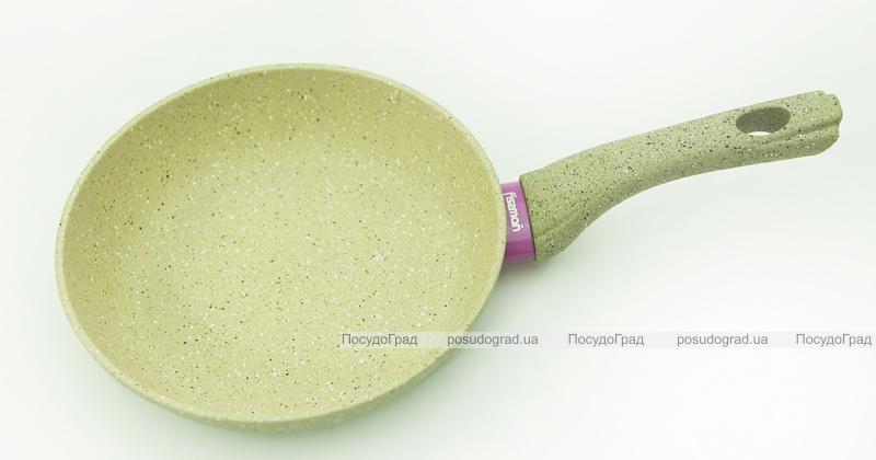 Сковорода Fissman WHITE STONE Ø20см с керамическим антипригарным покрытием