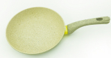 Сковорода Fissman WHITE STONE Ø24см с керамическим антипригарным покрытием