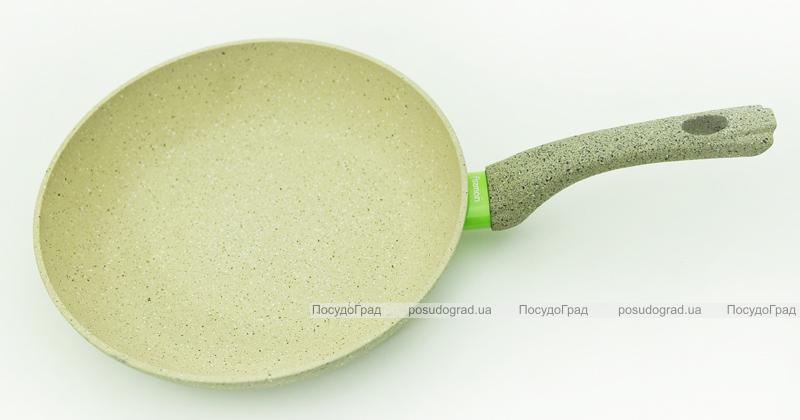 Сковорода Fissman WHITE STONE Ø26см с керамическим антипригарным покрытием
