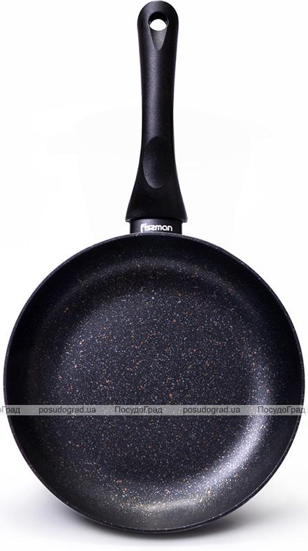 Сковорода Fissman Promo Ø24см с антипригарным покрытием TouchStone (каменная крошка)