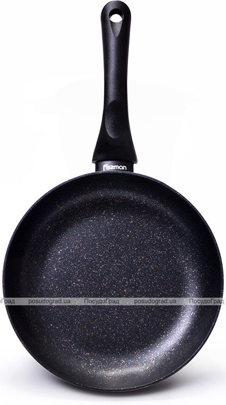Сковорода Fissman Promo Ø24см з антипригарним покриттям TouchStone (кам'яна крихта)