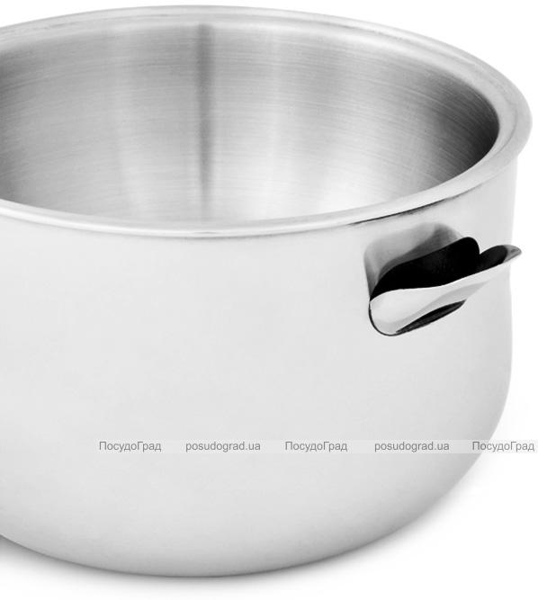 Ковш Fissman с двойными стенками 950мл для водяной бани, со свистком (молоковарка)