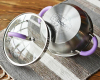 Кастрюля Fissman Annette 2.5л из нержавеющей стали с крышкой-дуршлагом