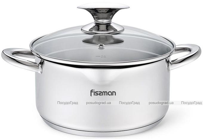 Кастрюля Fissman Elegance 5.6л из нержавеющей стали