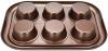 Форма для кексів і маффінів Fissman Chocolate 29.4x21x3.5см, 6 осередків