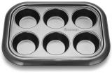 Форма для кексов и маффинов Fissman Gingerbread 29.4x21x3.5см, 6 ячеек