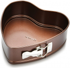 Форма для випікання Fissman Chocolate 24x24см роз'ємна Серце