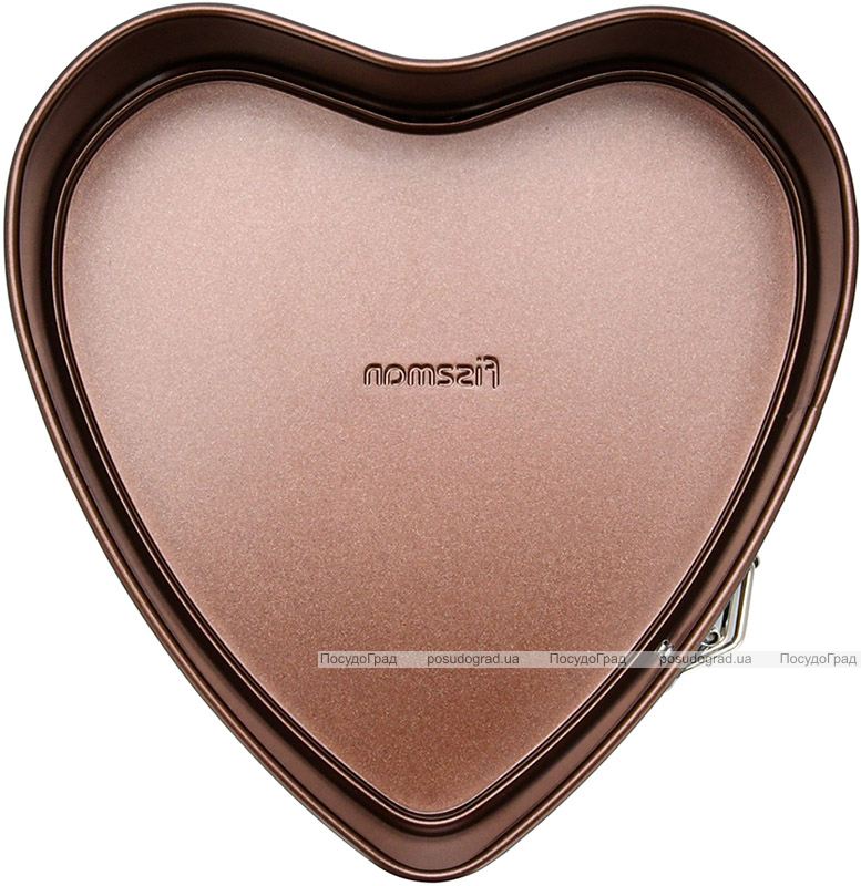 Форма для выпекания Fissman Chocolate 24x24см разъемная Сердце