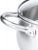 Набор кухонной посуды Fissman Nancy 6 предметов, из нержавеющей стали
