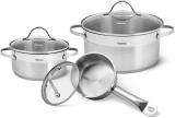 Набір кухонного посуду Fissman Evita 6 предметів, з нержавіючої сталі